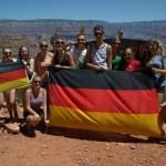 German tour group