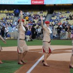 Emirates Cabin Crew at Dodgers