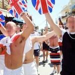 drunken British traveloers