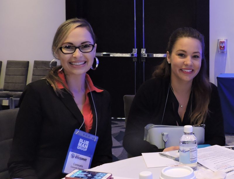 Between sessions, we catch Consuelo Sanchez, sports marketing coordinator and project coordinator for Pasco County, Florida; and her colleague, Lauren St. Martin public communications and tourism specialist for Pasco County.