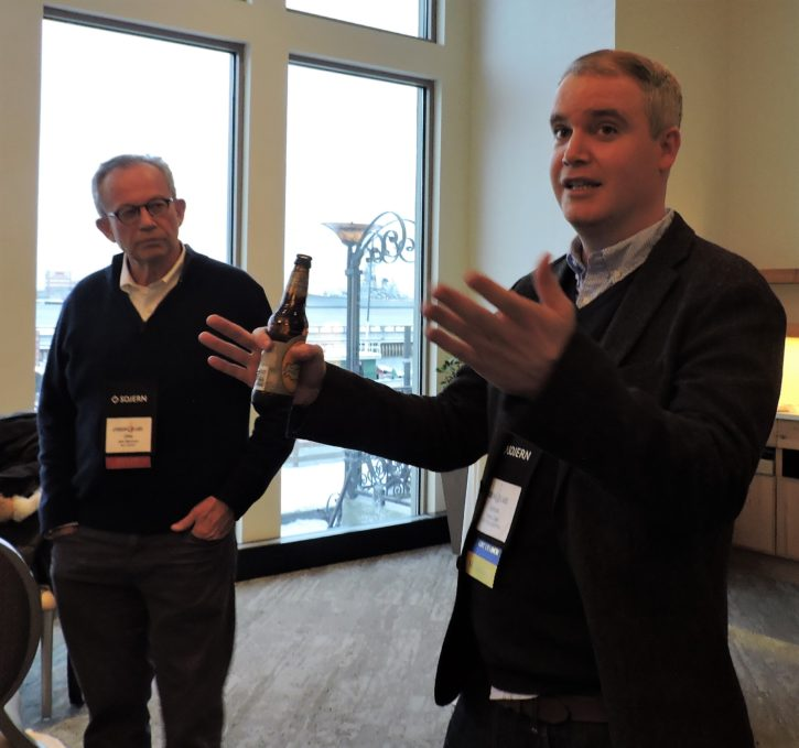 Jake Steinman (left), CEO, the NAJ Group; and James Zale, vice president of digital strategy, Visit Philadelphia