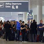 German airport