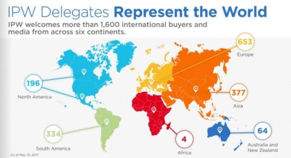 IPW Delegate Breakdown