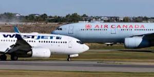 WestJet e Air Canada