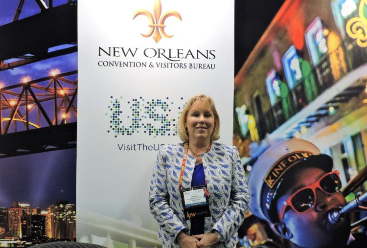 Kim Priez, vice president of tourism, Metropolitan New Orleans CVB.
