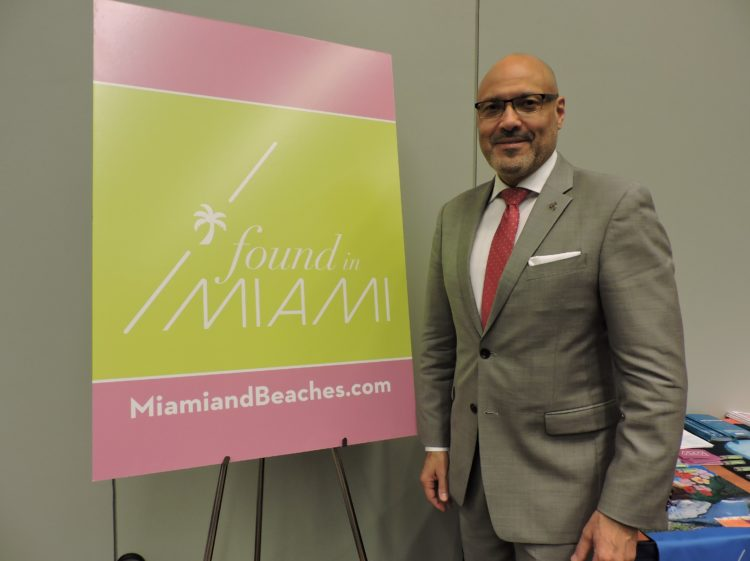 Joe Docal, director of travel industry sales-Latin America and the Caribbean, Greater Miami CVB.