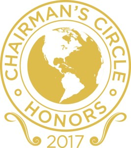 2017 Chairman's Circle Honors Top International Tour Operators