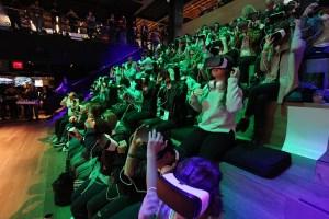 Theme Park Virtual Reality