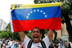 Venezuela demonstrator