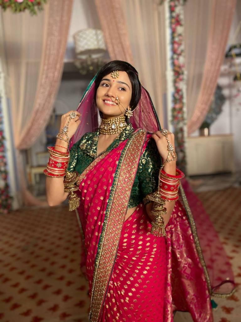 Ashi Siingh Bridal Look in Zee Tv's MEET