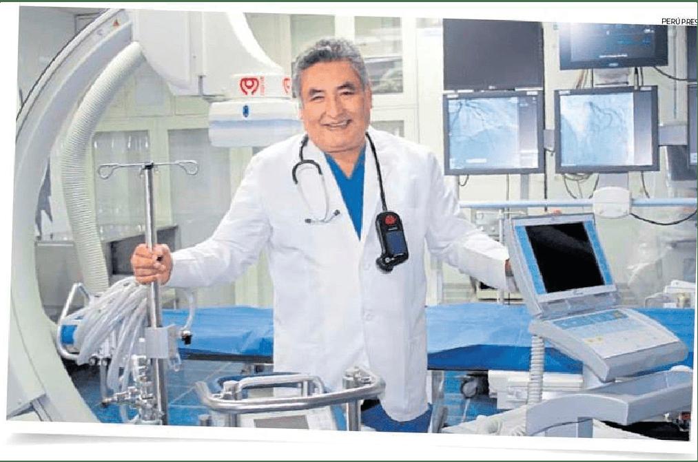 EL COMERCIO ENTREVISTA POR RESCATE DE VIDAS AL DIRECTOR DE CLÍNICA DEL INCA