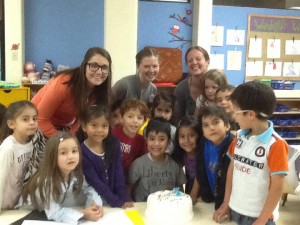 My beautiful students and co-workers!