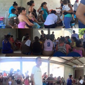 Our people in the Portoviejo Church