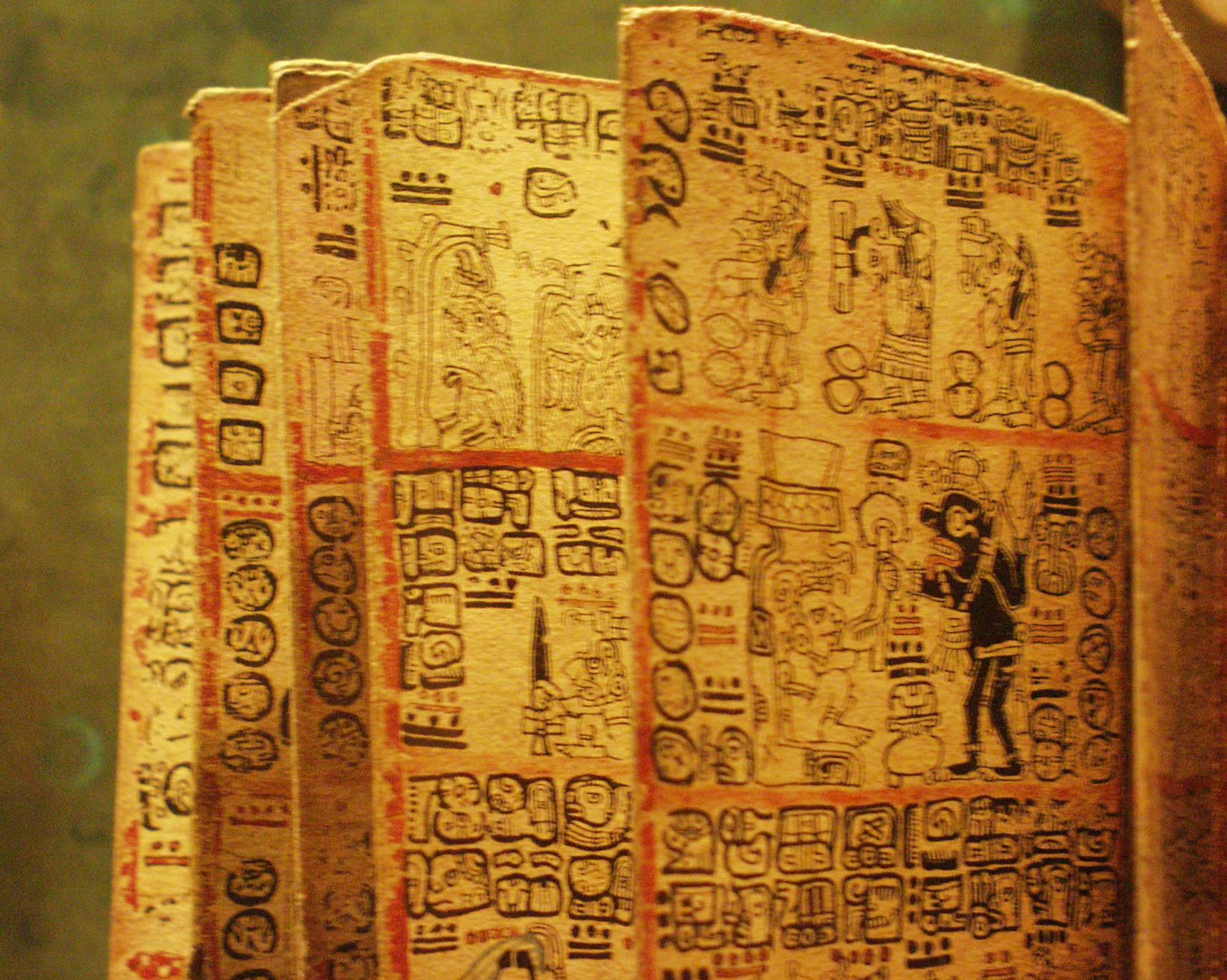 Ancient Mayan Hieroglyphics