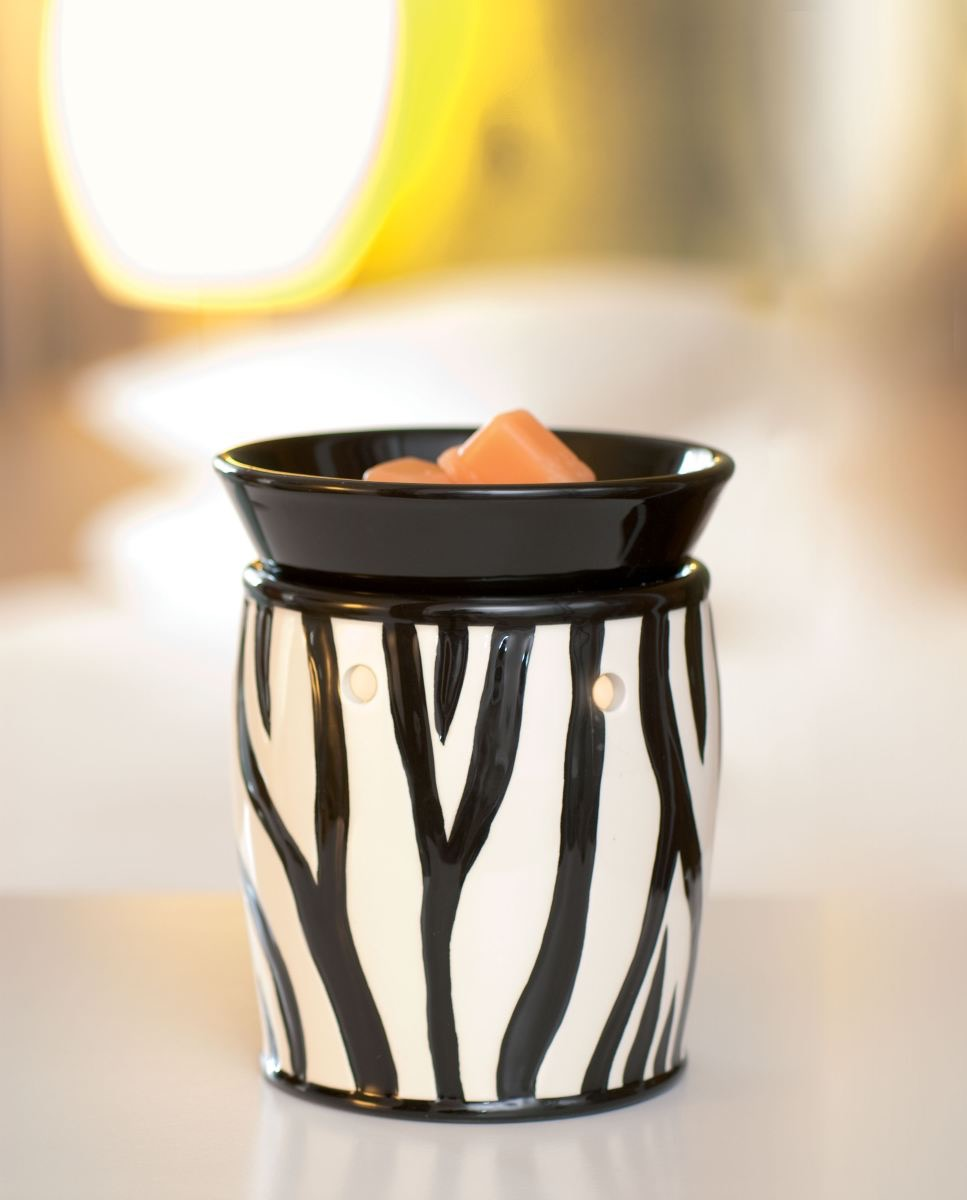 Shop Scentsy Zebra Wax Warmer Deluxe Scentsy Buy Online