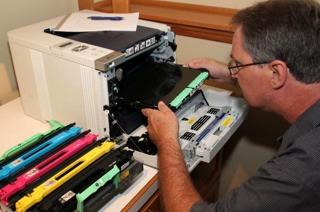 bill-repairing-a-printer