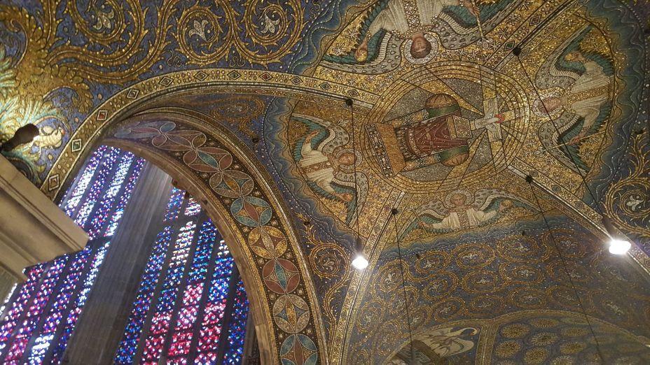 interieur Dom, plafondschildering