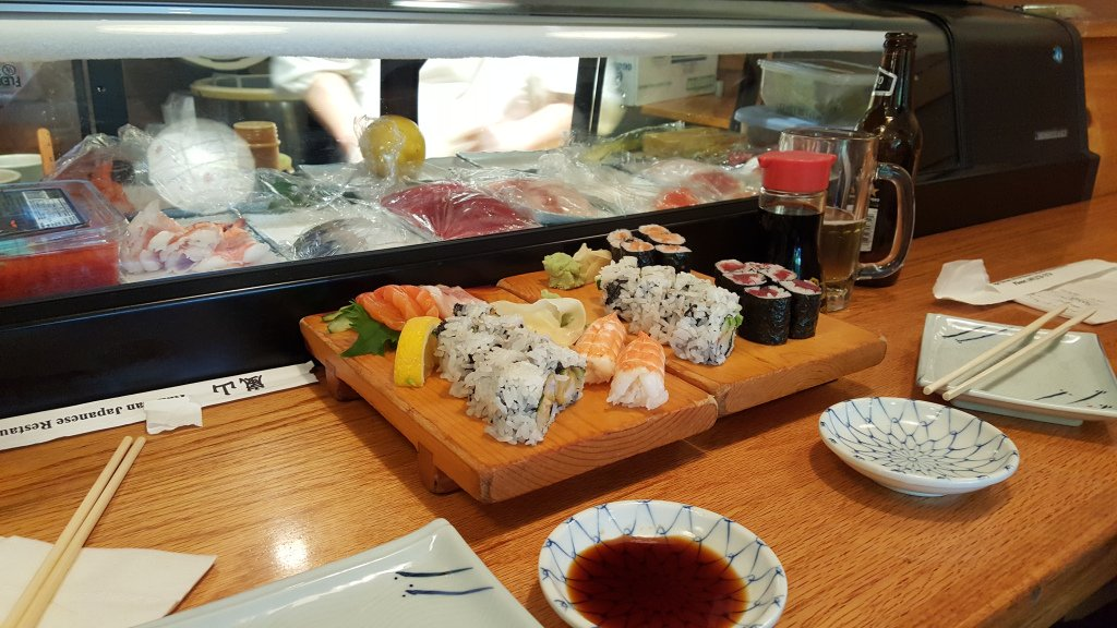 Sushi bij restaurant ran zan providence