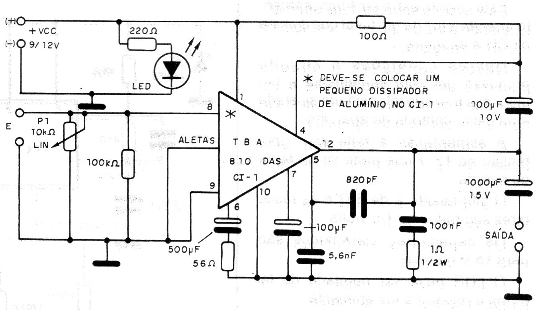 Modulador Am Con El Tba810 Cir S