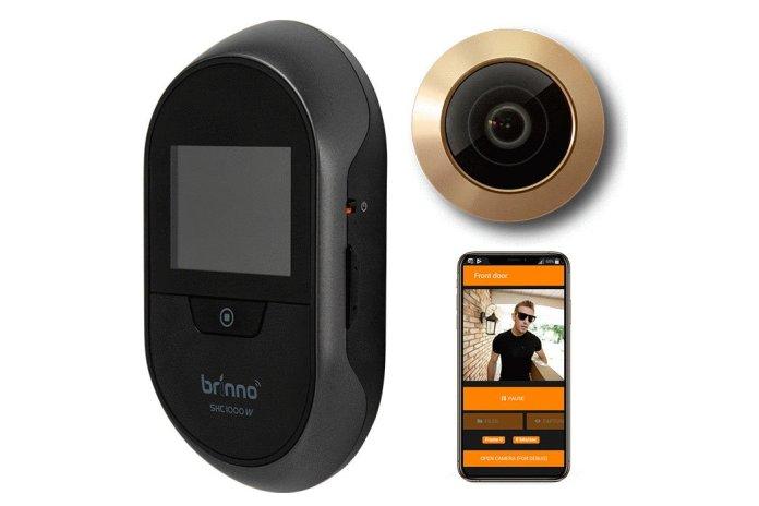 Brinno Duo: Smart Peephole Home Security Camera