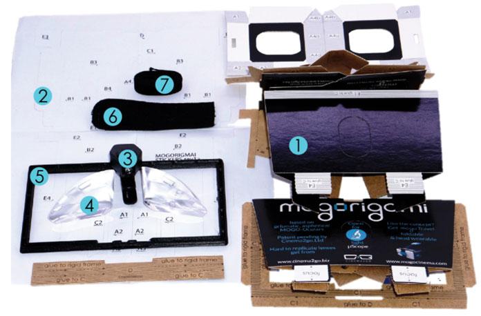 MOGORIGAMI Assembly kit