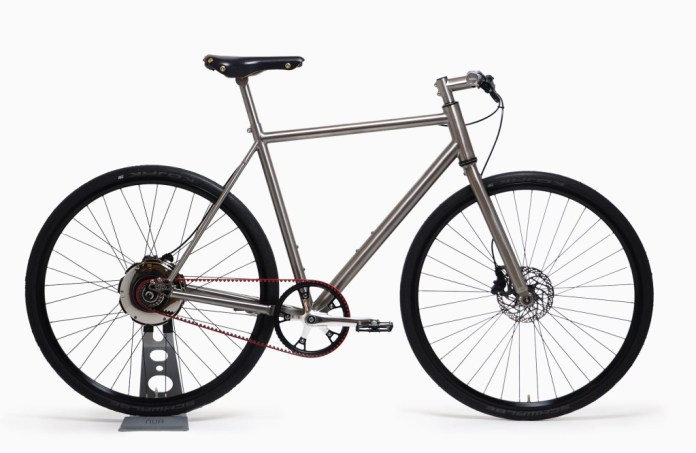 Nua electrica titanium ebike comes equipped with Zehus motor