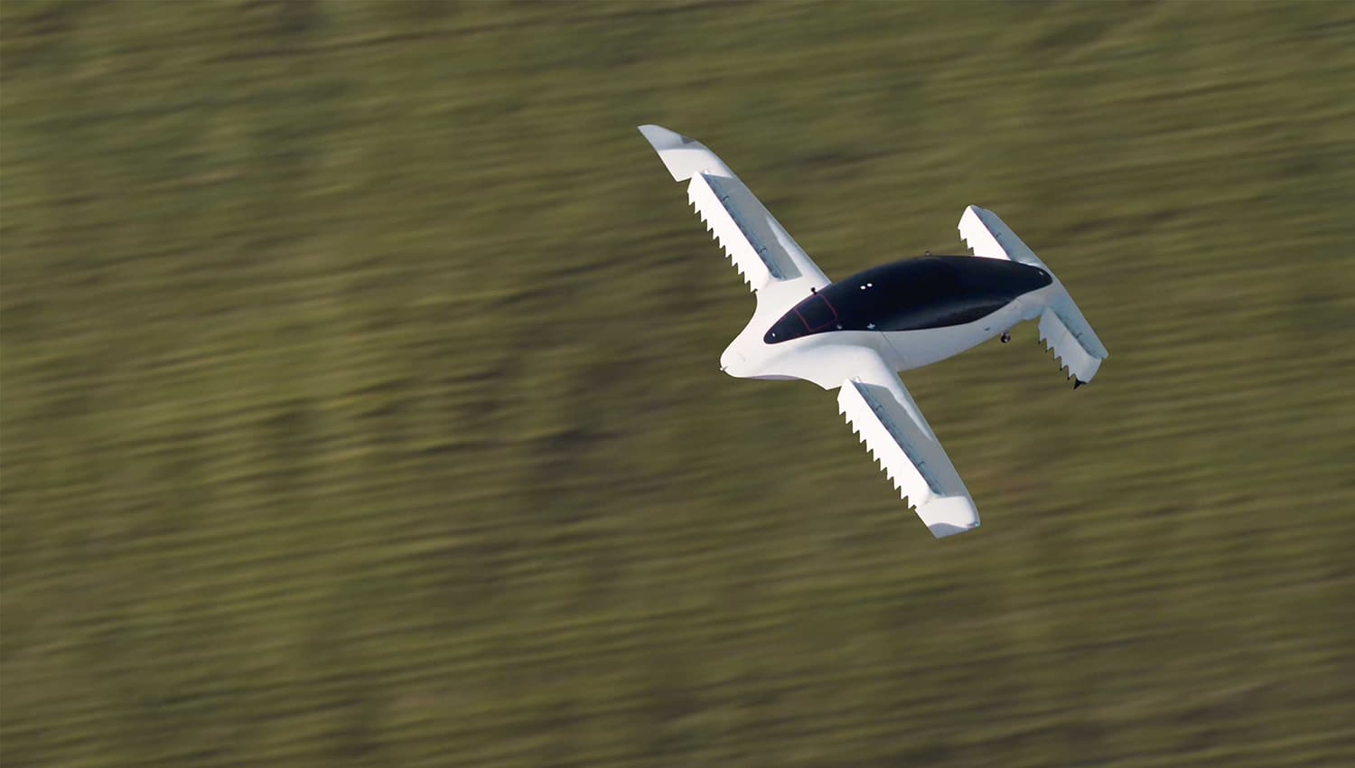 Lilium Jet air taxi reaches a top speed of 100 km/h