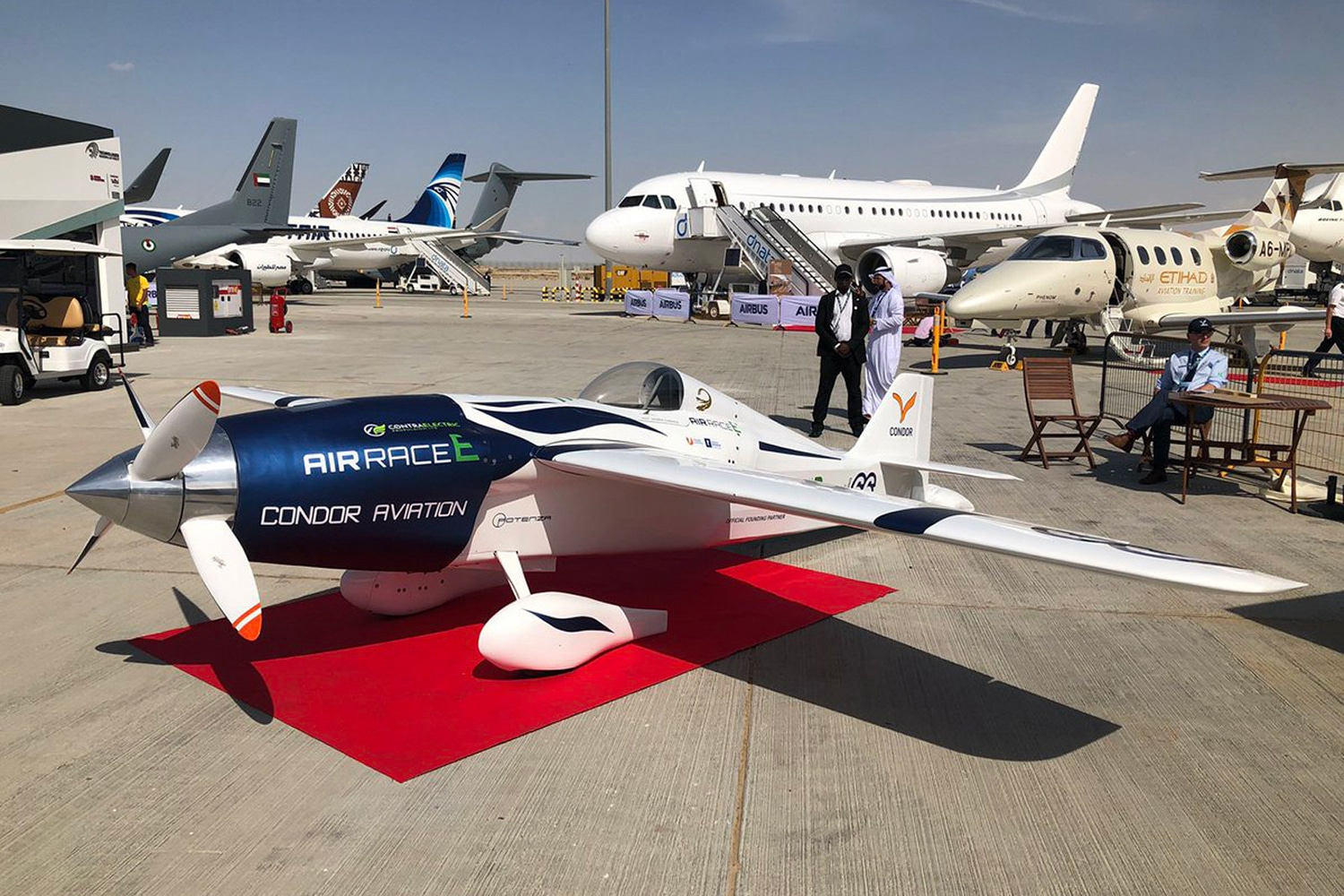Air Race E launches an all-electric racing aircraft