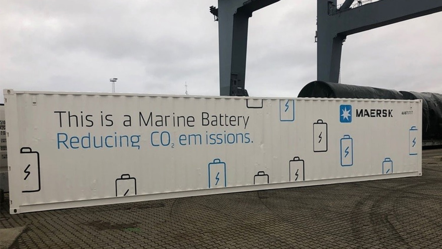 Maersk's giant marine battery to improve vessel performance