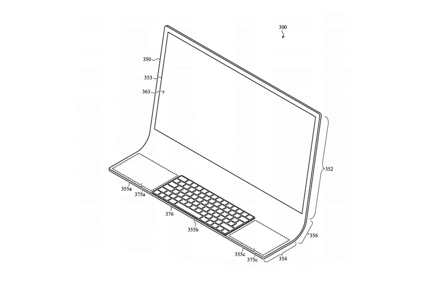 Apple patent reveals new iMac design with an unusual shape