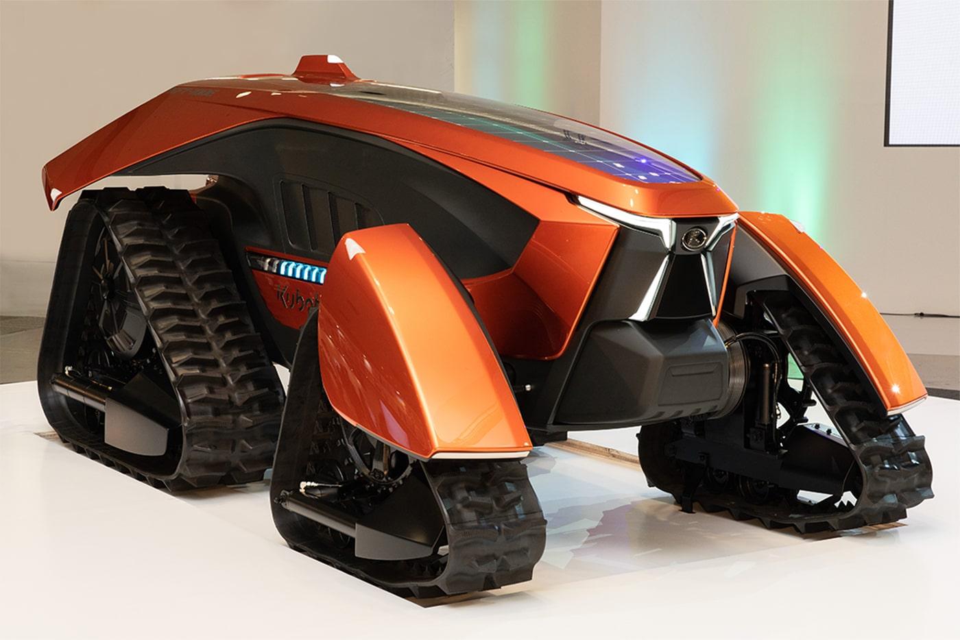 Kubota presents an autonomous, electric concept tractor with AI