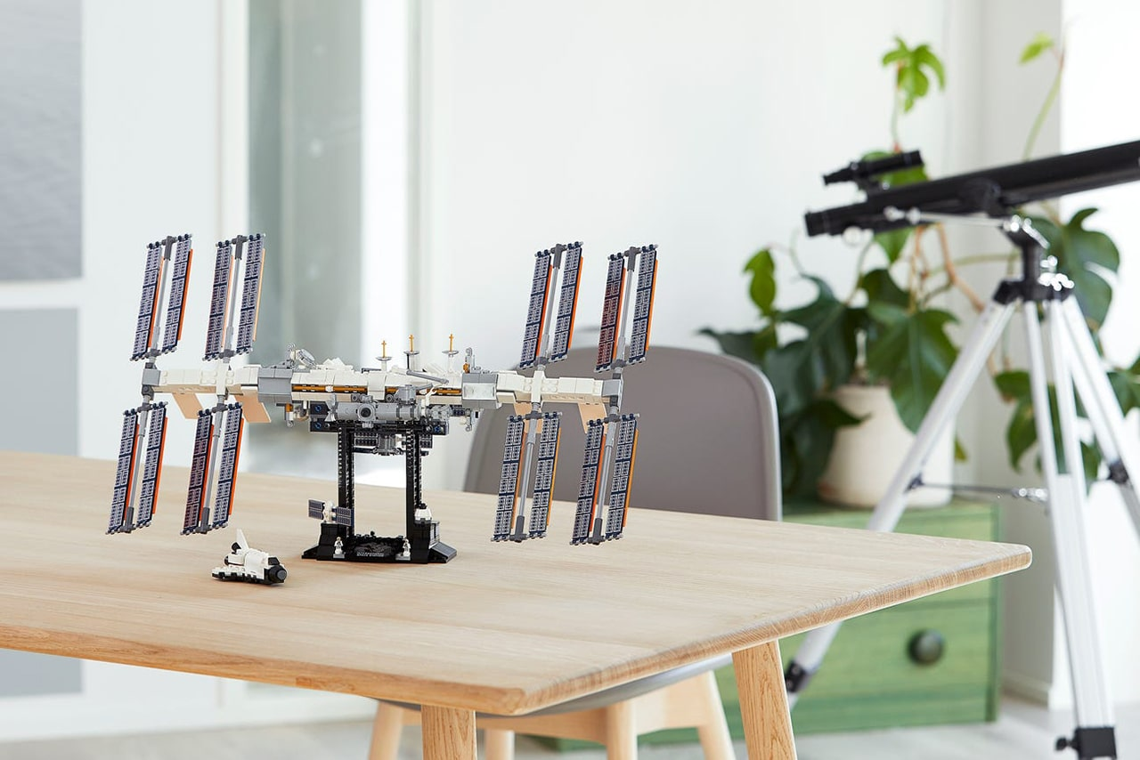 Lego releases the replica of the International Space Station