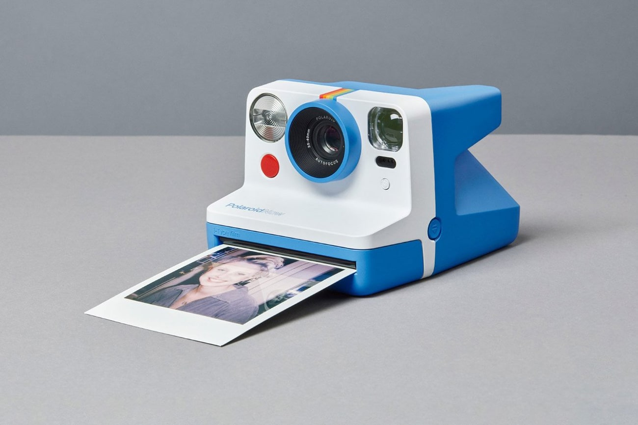 Polaroid Now, a new instant camera with autofocus and improved flash