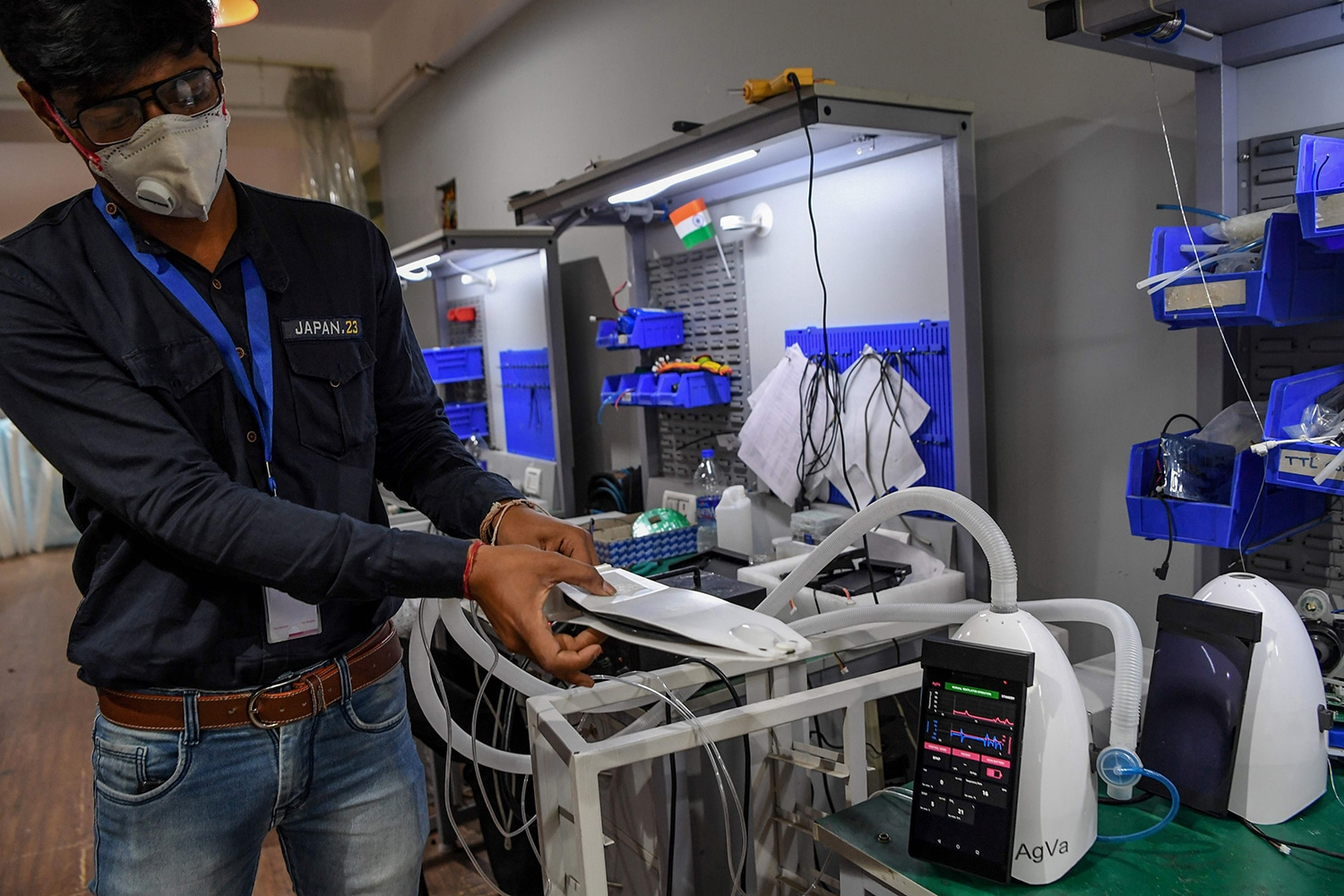 A toaster-sized AgVa ventilator to help India in coronavirus fight