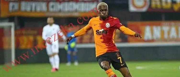 Son dakika: Galatasaraylı Henry Onyekuru'nun annesi vefat etti.