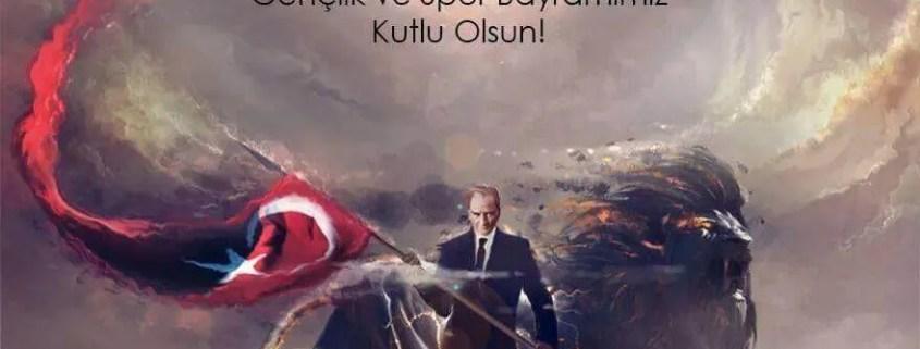 19 mayıs atatürk'ü anma ve genclık spor bayramı önemi Resimli mesajları
