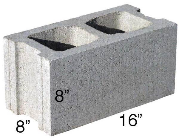 Concrete Block Calculator - Find the Number of Blocks ...