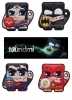 DC Comics Foundmi Bluetooth Tracking Tags