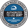 Authorized to use CERT