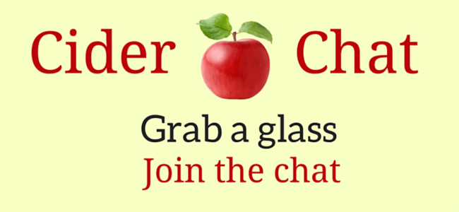 Cider Chat - Grab a glass, join the chat