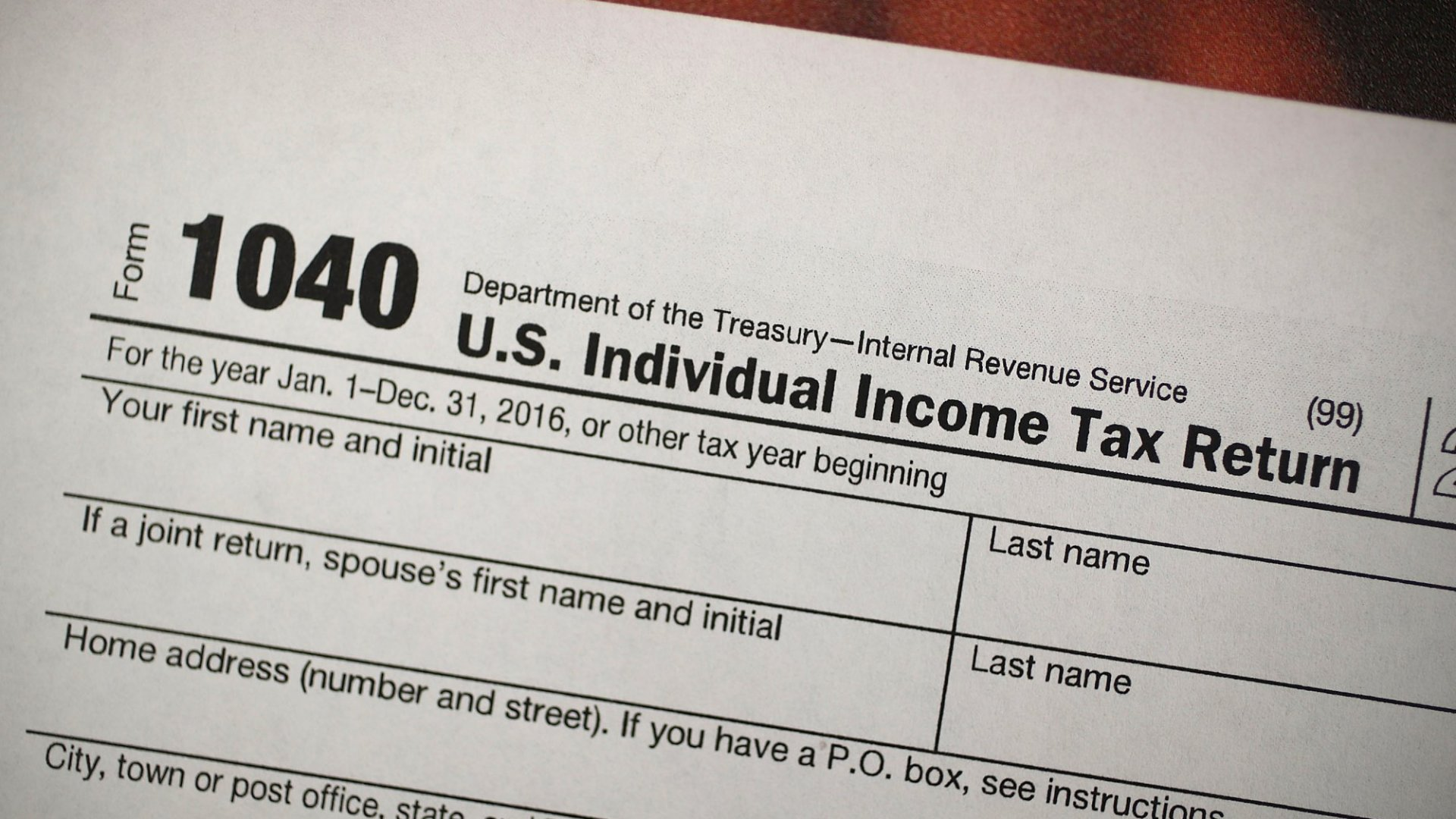 The Tax Law S New Form Is Here It S About To Make