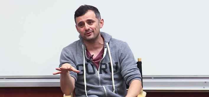 Gary Vaynerchuk giving the infamous entrepreneurship talk at USC