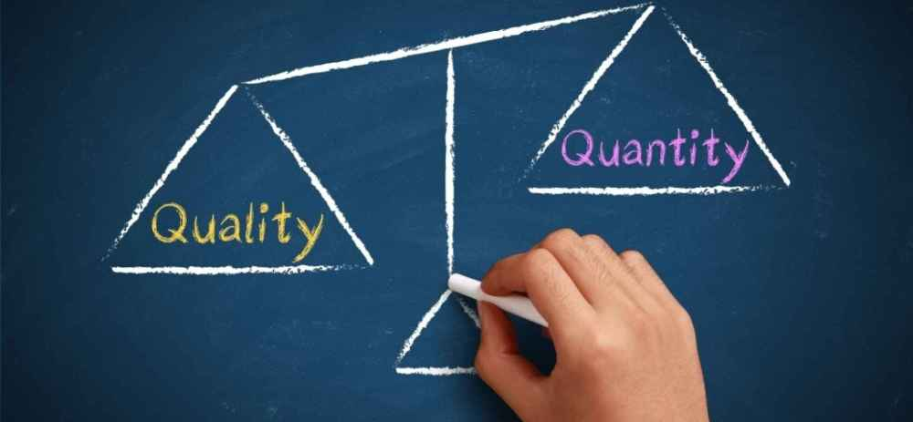 Image result for quality over quantity