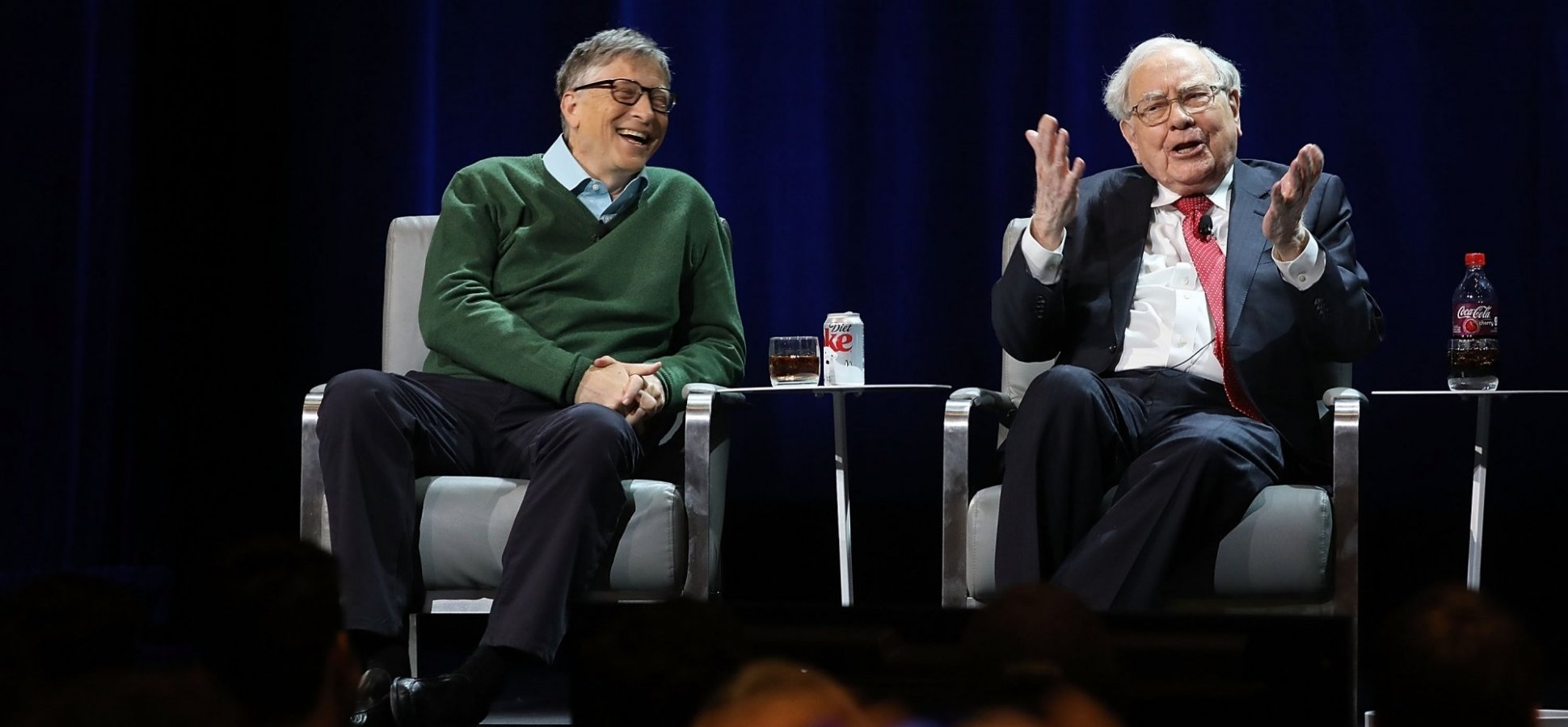 Bill Gates Always Turns To Warren Buffett For Advice Here