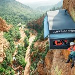 A Genius Move: A Pop-Up Store 300 Feet up the Side of a Cliff