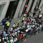 Crowds Have Been Lining Up for Days Outside Apple Stores to Score an iPhone X