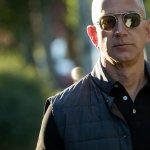 Jeff Bezos Just Christened Amazon's New Wind Farm By Smashing Champagne On A Turbine