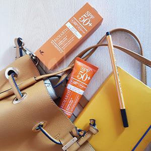 Packaging della crema viso sun and the city Bioearth