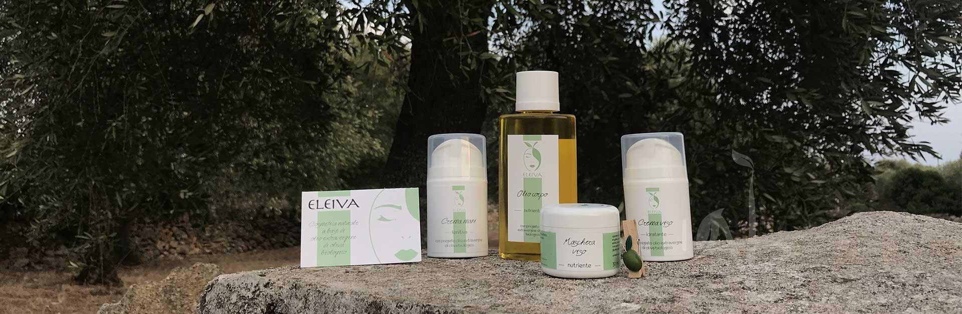 Prodotti con olio di oliva Eleiva