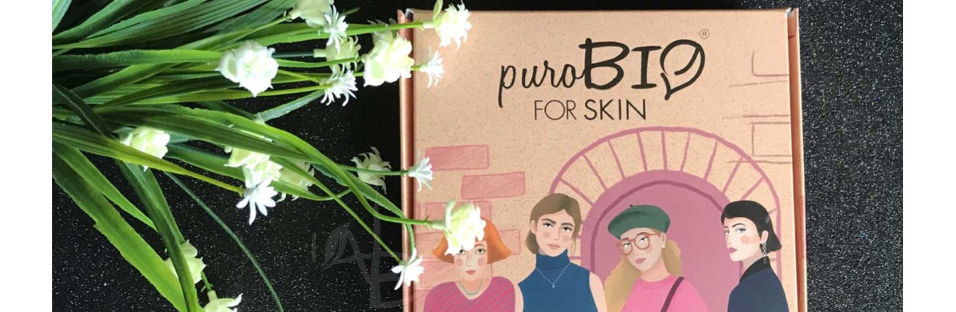 Immagine di copertina delle maschere della linea purobio for skin di Purobio